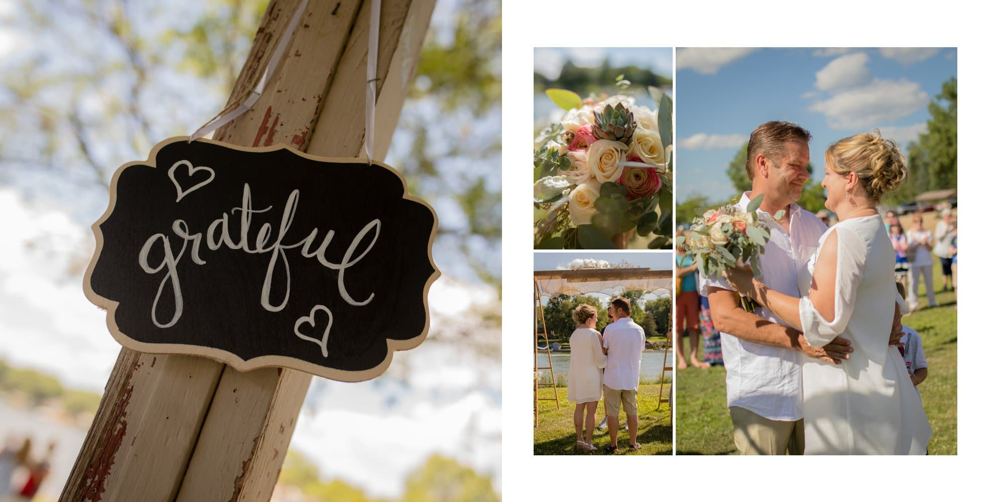 Outdoor Casual wedding photography