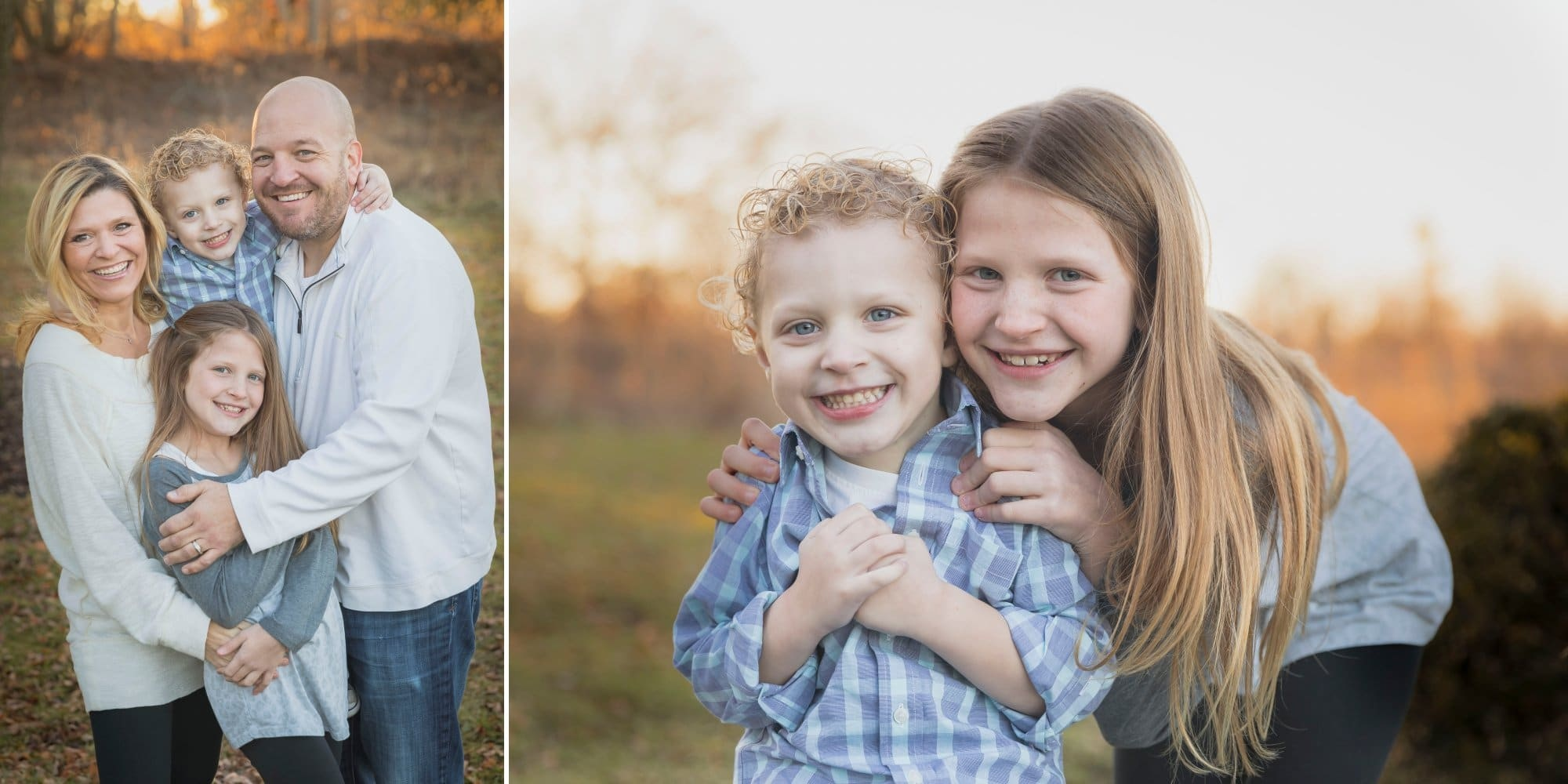 Mayslake Family pictures with young kids